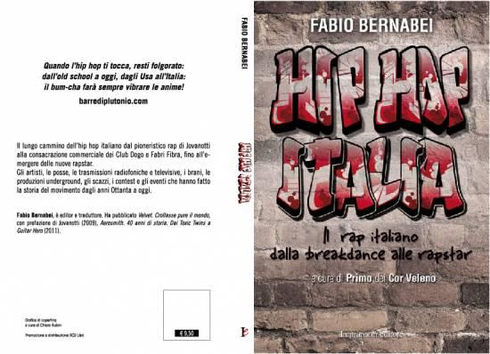 Copertina e quarta di copertina di Hip Hop Italia